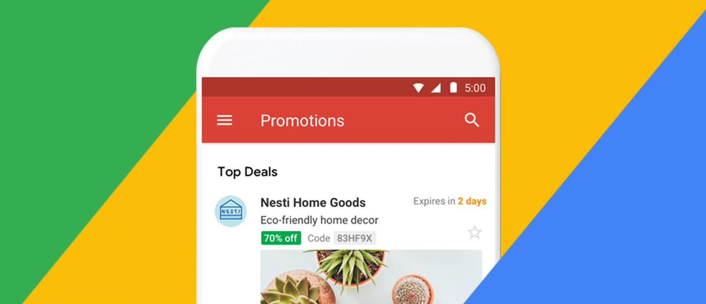 Gmail Promotions Tab nutzen