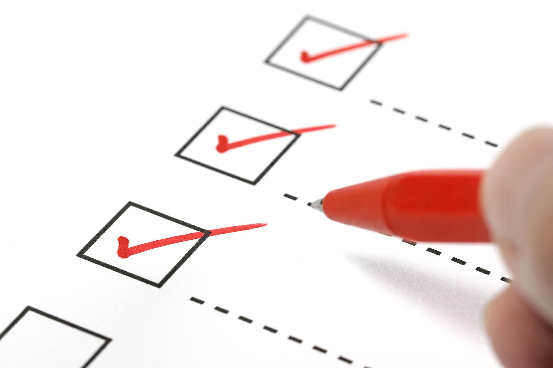 Checkliste E-Mail Kampagnen
